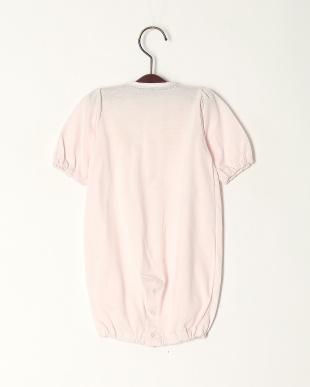ピンク 天竺ジャガードドレスオールを見る