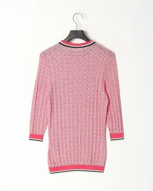 Open Miscellaneous コントラストトリム ブークレ セーターを見る