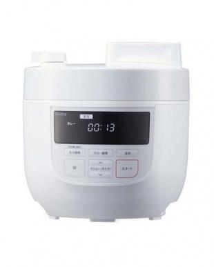 ホワイト siroca 4L 電気圧力鍋 SP-4D151を見る