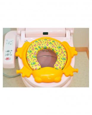 イエロー ステップ式 トイレトレーナーを見る