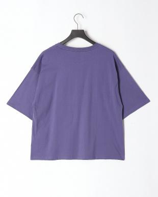 パープル 頑張るクマ柄Tシャツを見る