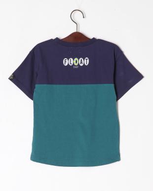 グリーン バイカラーTシャツを見る
