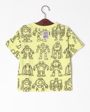 ライム ロボット総柄BIG Tシャツを見る