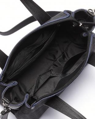グレー/ブルー ホースヘアー2WAYバッグを見る