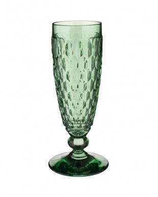 グリーン ボストン シャンパングラス 4個セットを見る