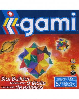 i-gami 立体パズル 3種セット(スター/お花/ジェット機)を見る