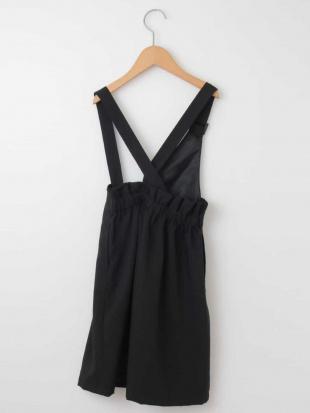 ブラック [100-130]ワンショル2WAYスカート[WEB限定サイズ] a.v.v bout de chouを見る