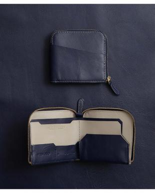 トラッドネイビー/グレーベージュ 「なくさない財布」  薄くて使いやすく、とても安全な薄い財布。を見る