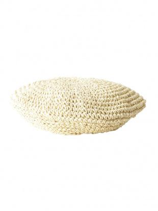 ベージュ 雑材ベレー帽 MERCURYDUOを見る