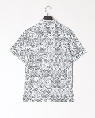 DARK DENIM ゴルフ トライバル グラフィック SS ポロシャツを見る