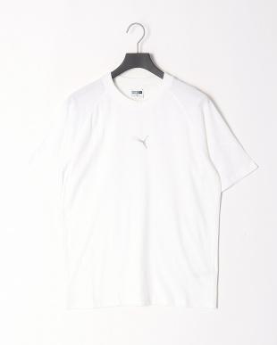 PUMA WHITE/PUMA BLACK EPOCH SS Tシャツ & ESS スウェットパンツ 上下setを見る