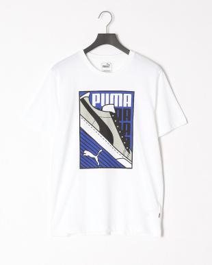 COTTON BLACK/PUMA WHITE スニーカーSS Tシャツ & スニーカーSS Tシャツ 2点setを見る