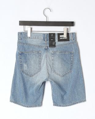 Light Blue Ripped  Bay Shortsを見る