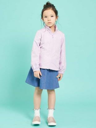 ブルー [100-130]【洗える】インナーパンツ付きデニムスカート[WEB限定サイズ] a.v.v bout de chouを見る