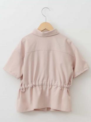 ピンク [160]【洗える】サファリシャツ[WEB限定サイズ] a.v.v bout de chouを見る
