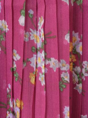パープル [140-150]花柄プリーツスカート a.v.v bout de chouを見る