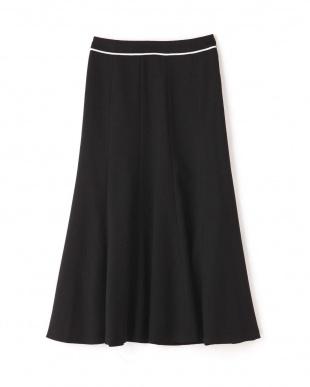 ブラック ギマライトマキシスカート アドーアを見る