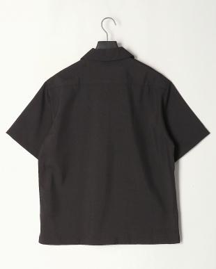 クロ ポリトロワーク半袖シャツを見る