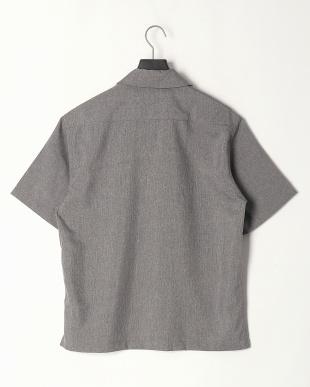 グレー ポリトロワーク半袖シャツを見る