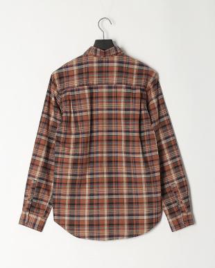BRN コットンチェックシャツを見る
