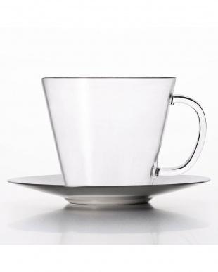 TEA CUP+ステンレスソーサー ストレート ステン2Pセットを見る