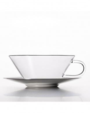 TEA CUP+ステンレスソーサー シャロウ ステン 2Pセットを見る