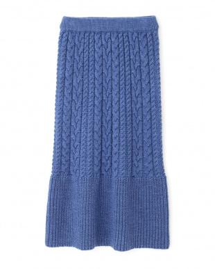 BLUE ◆ドロシーニットスカート ジルスチュアートライセンスを見る