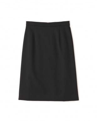 ブラック [ウォッシャブル]TRストレッチツイルウォッシャブルスカート NATURAL BEAUTYを見る