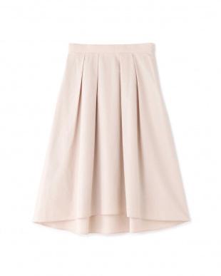 ピンク ◆クリアタフタイレギュラーヘムスカート NATURAL BEAUTYを見る