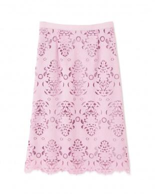 ピンク ◆キカフラワーレーススカート NATURAL BEAUTYを見る