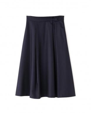 ネイビー ◆ジュエルスラブスカート NATURAL BEAUTYを見る