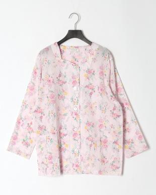 ピンク レディースパジャマ リップル ミュレーを見る
