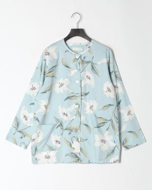 ブルー レディースパジャマ セオラ ゆりを見る