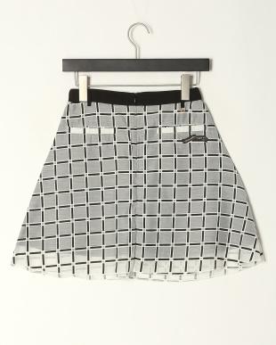 WH  チェックオーガンジースカートを見る