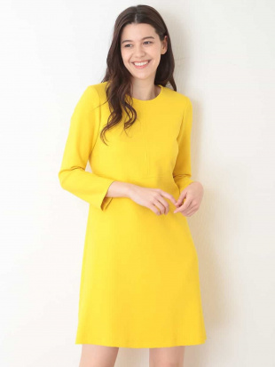 イエロー 定番 TOILE DOUBLE ドレス【洗える】 TARA JARMONを見る