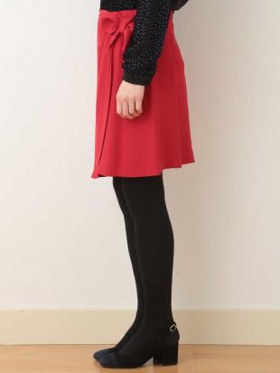 ブラック リボンデザインスカート TARA JARMONを見る