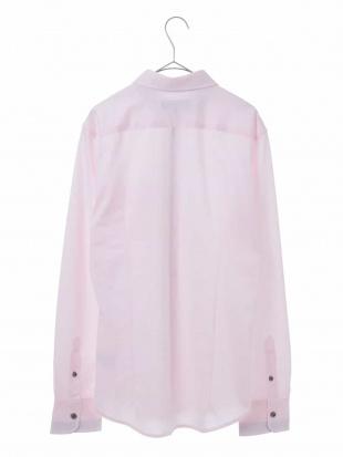 ピンク ストライプストレッチシャツ MK MICHEL KLEIN hommeを見る