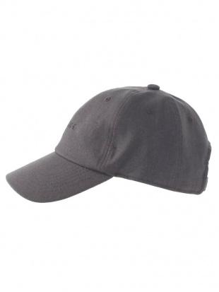チャコールグレー リネン混CAP Ungridを見る