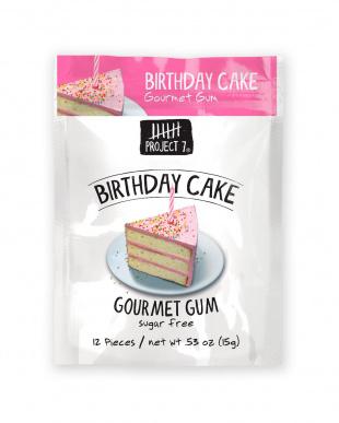 シュガーフリーガム バースデーケーキ 6個セットを見る