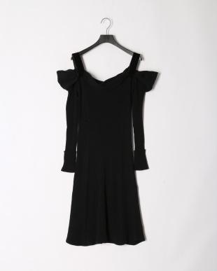 BLK ドレープニットドレスを見る
