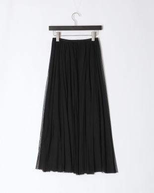 ブラック チュールフレアースカートを見る