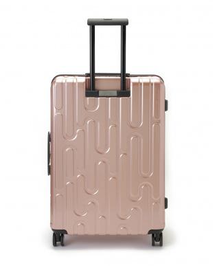 ピンクローズ 4輪キャスター スーツケース ジッパータイプ  26インチを見る