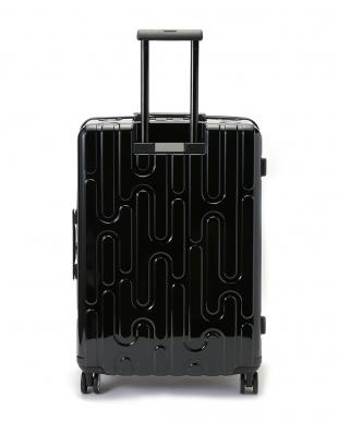ブラック 4輪キャスター スーツケース ジッパータイプ  26インチを見る
