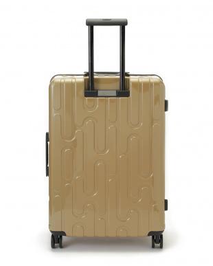 ゴールド 4輪キャスター スーツケース ジッパータイプ  26インチを見る