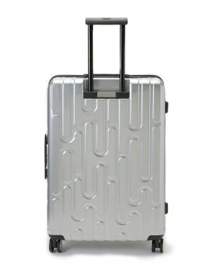 シルバー 4輪キャスター スーツケース ジッパータイプ  26インチを見る