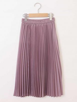 アイボリー [160]キリカエサテンプリーツスカート[WEB限定サイズ] a.v.v bout de chouを見る
