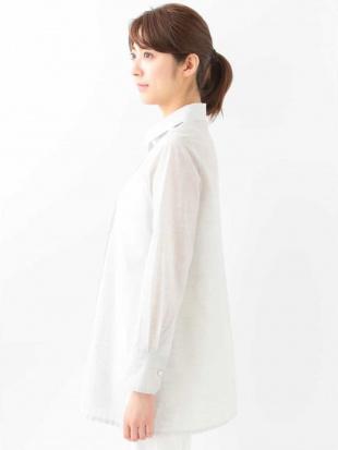 ライトグレー 【洗える】タックデザインシャツ CHRISTIAN AUJARDを見る