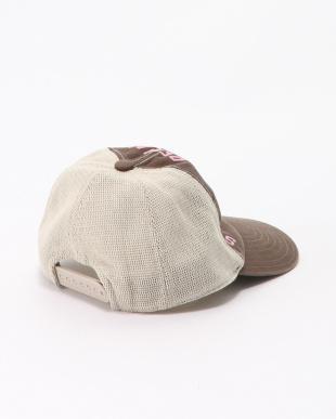 ブラウン メッシュ CAPを見る
