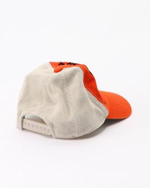 オレンジ メッシュ CAPを見る