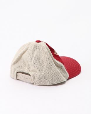 レッド メッシュ CAPを見る